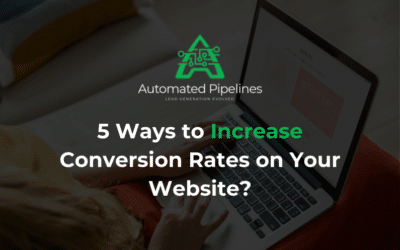 5 Ways to Increase Conversion Rates on Your Website